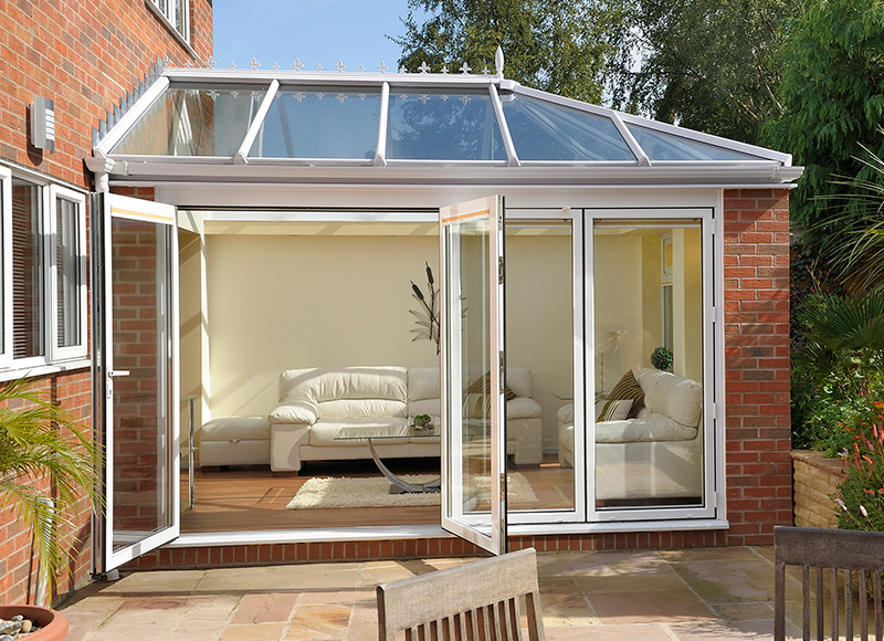 Introduce a modern-day innovation into your home; Bi-Folding doors...